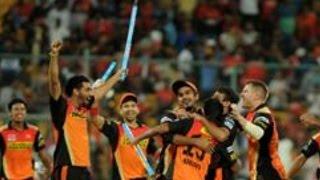 IPL 2016 Final - Sunrisers Hyderabad Beat Royal Challengers Bangalore By 8 Runs To Win The IPL Title