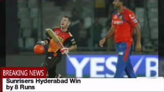 Royal Challengers Bangalore vs Sunrisers Hyderabad - IPL 2016 Final