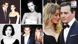 Johnny Depp's IMPERFECT Relationships | Amber Heard, Kate Moss