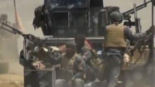 Raw: Iraqi Forces Push Into IS-Held Fallujah