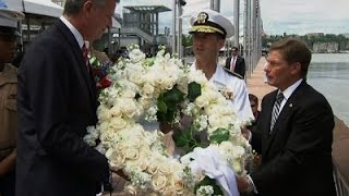 Memorial Day Commemoration at NY Intrepid Museum