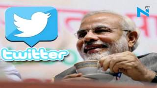 PM Modi with @narendramodi on Twitter makes interaction easy