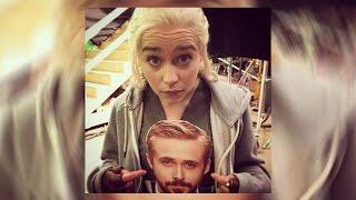 Emilia Clarke Professes Crush On Ryan Gosling