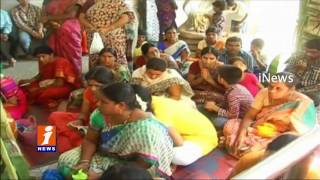 Hanuman Jayanti Celebrations | Devotees Huge Throng To Temples in Khammam | iNews