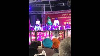Nooran Sisters new live show 29 may 2016 Part 1 - Pind Bakarpur Dist Mohali - Jai Gaunspak ji - 786 Records