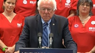 Sanders On Health Care During CA Campaign Swing