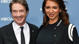 Martin Short and Maya Rudolph talk about their new variety show 'Maya and Marty.' Rudolph talks