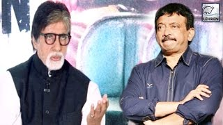 Amitabh Bachchan Opens Up On FIGHT With Ram Gopal Varma