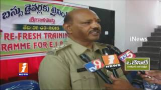 Chittoor Dist RTO Police Conducts Training Program For School Bus Drivers | iNews