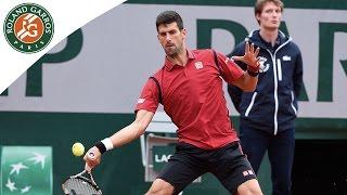 Djokovic - Agut 2016 Roland-Garros Men's / R4