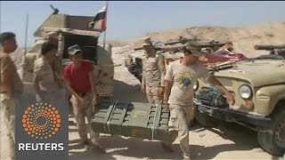 Iraqi army readies for fierce fight with IS in Falluja