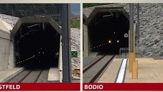 World's Longest Railway Tunnel Inaugurated