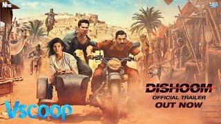 Official Trailer | Dishoom | Varun Dhawan, John Abrahan, Jacqueline Fernandez, Nargis Fakhri #VSCOOP