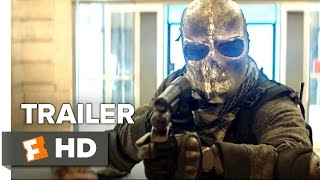 Marauders Official Trailer #1 (2016) - Bruce Willis, Dave Bautista