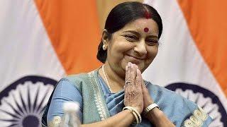 Sushma Swaraj's tweet marks controversy