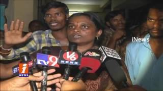 New Born baby Dies Due to Doctor Negligence In Karimnagar Govt Hospital | iNews