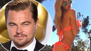 Leonardo DiCaprio dating Es$ex model Roxy Horner and regularly flies across the world to spend time