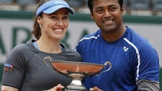 French Open 2016: Leander Paes- Martina Hingis win title