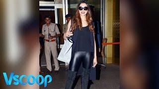Black Diva! Deepika Padukone Smoking Hot Looks #VSCOOP