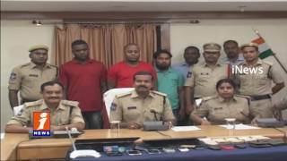 Nigerian arrested for fake lucky draw lotteries in Karimnagar | iNews