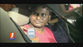 Kai Raja Kai Fame Sai Rohit Caught In Drink And Drive At Jubilee Hills | Hyderabad | iNews
