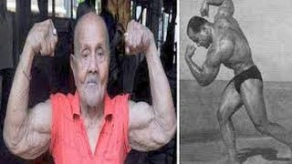 Manohar Aich: Top Indian bodybuilder dies, aged 104