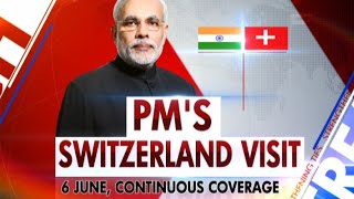 PM Modi's Switzerland Visit(Promo)