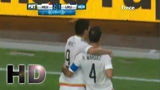 Gol de Rafa Marquez - Mexico vs Uruguay 2-1 Copa America 2016 Centenario