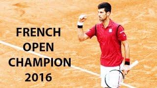 Novak Djokovic Defeats Andy Murray To Win French Open Tennis Final 2016