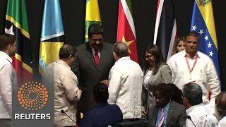 Venezuela's Maduro entreats Latin America not to isolate him