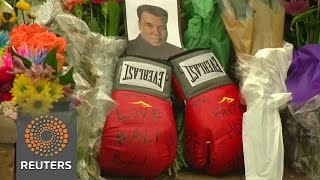 Muhammad Ali memorial grows in Louisville