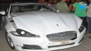 On Cam: White Jaguar seen smashing into Wagon R on Indore street