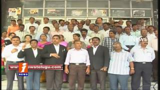 Telangana Lawyers Dharna | AP Lawyers Selections to Be Stopped | iNews