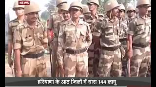 Jat agitation continue in Haryana