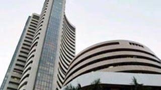 Sen$ex gains 100 points, Rupee rises by 6 paise