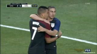 USA vs Costa Rica 4-0 - Bobby Wood Goal - Copa America 2016