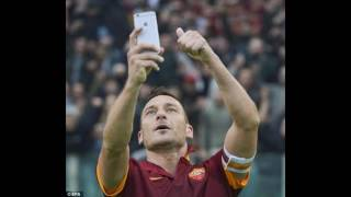 Francesco Totti agrees a new one-year deal with Roma, taking him to 40-years-old
