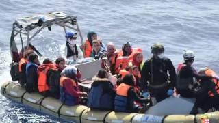 Migrants Tell Of Survival In Mediterranean