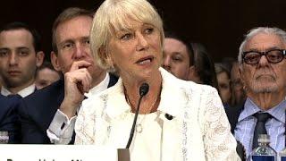 Helen Mirren Testifies in Senate Hearing
