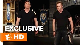 How To Fight Like an Orc with Rob Kazinsky | Warcraft