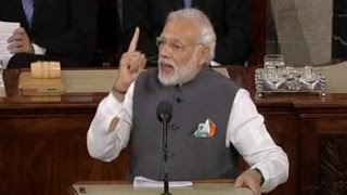 'India lives as one, grows as one, celebrates as one', PM Modi to US Congress
