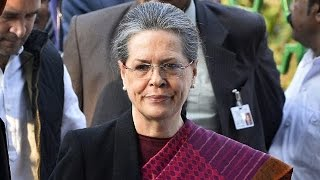 Kerala Contractors File FIR against Sonia Gandhi Over Payment of Dues