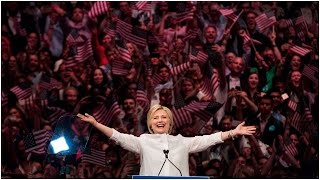 Hillary Clinton makes history with Democratic presidential nomination