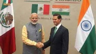 PM Modi Thanks Mexico For Supporting India's NSG Membership Bid