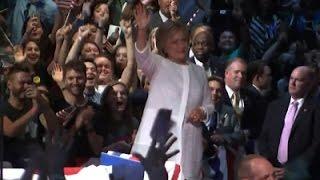 Clinton Wins California Democratic Primary