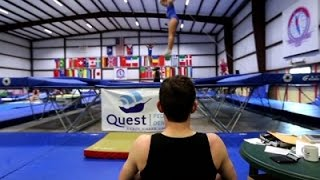 Louisiana Trampoline Star Up For Olympic Trials