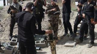 Raw: Iraqi Forces Advance in Fallujah