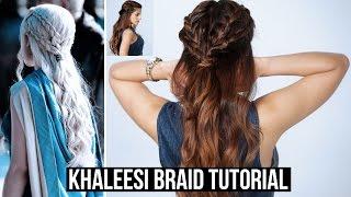 Game Of Thrones Season 6 Inspired Plaited Hairstyle Tutorial   Daenerys Targaryen, Mother of Dragons