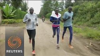 Kenya-based refugees running for Rio