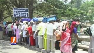 Huge Rush Of Devotees At Tirumala | iNews